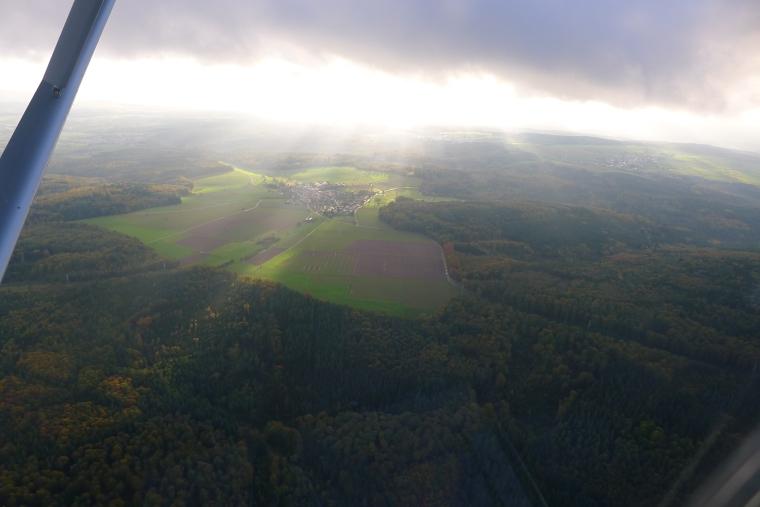Luftbildaufnahme © Maja Christ