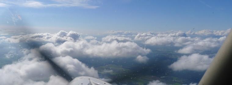 Flug über den Wolken © Maja Christ