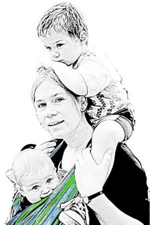Meine Kinder und ich © Maja Christ, Foto: Bernardo Pohlenz