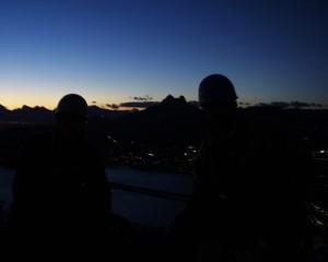 Gipfel des Peñón de Ifach im Dunkeln © Maja Christ