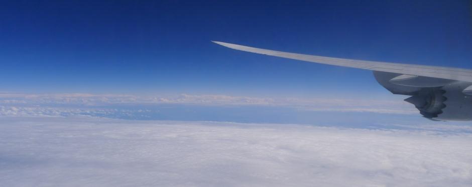 Über den Wolken und dem Atlantik © Maja Christ