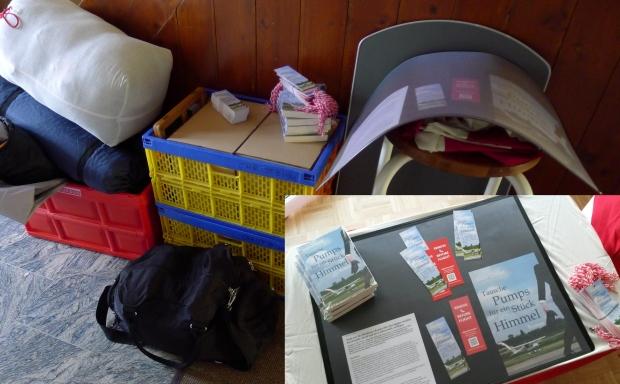 Gepäck für die AERO mit Standmaterial