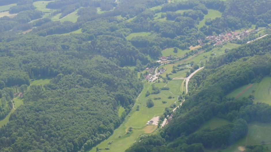 Untertrubach/Wolfsberg in der Fränkischen Schweiz © Maja Christ