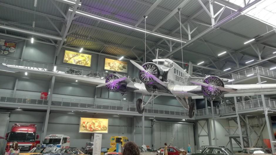Junkers Ju 52 im Technikmuseum Speyer © Maja Christ