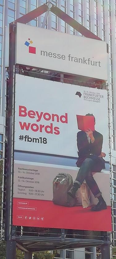 Slogan der Buchmesse