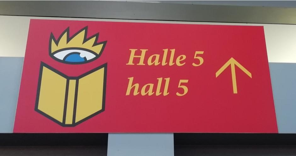 Halle 5 Leipziger Buchmesse © Maja Christ