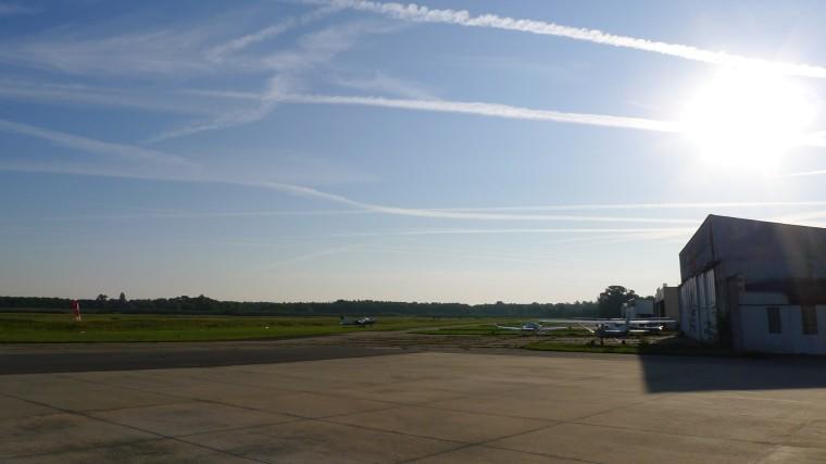 Morgenstimmung am Wormser Flugplatz © Maja Christ