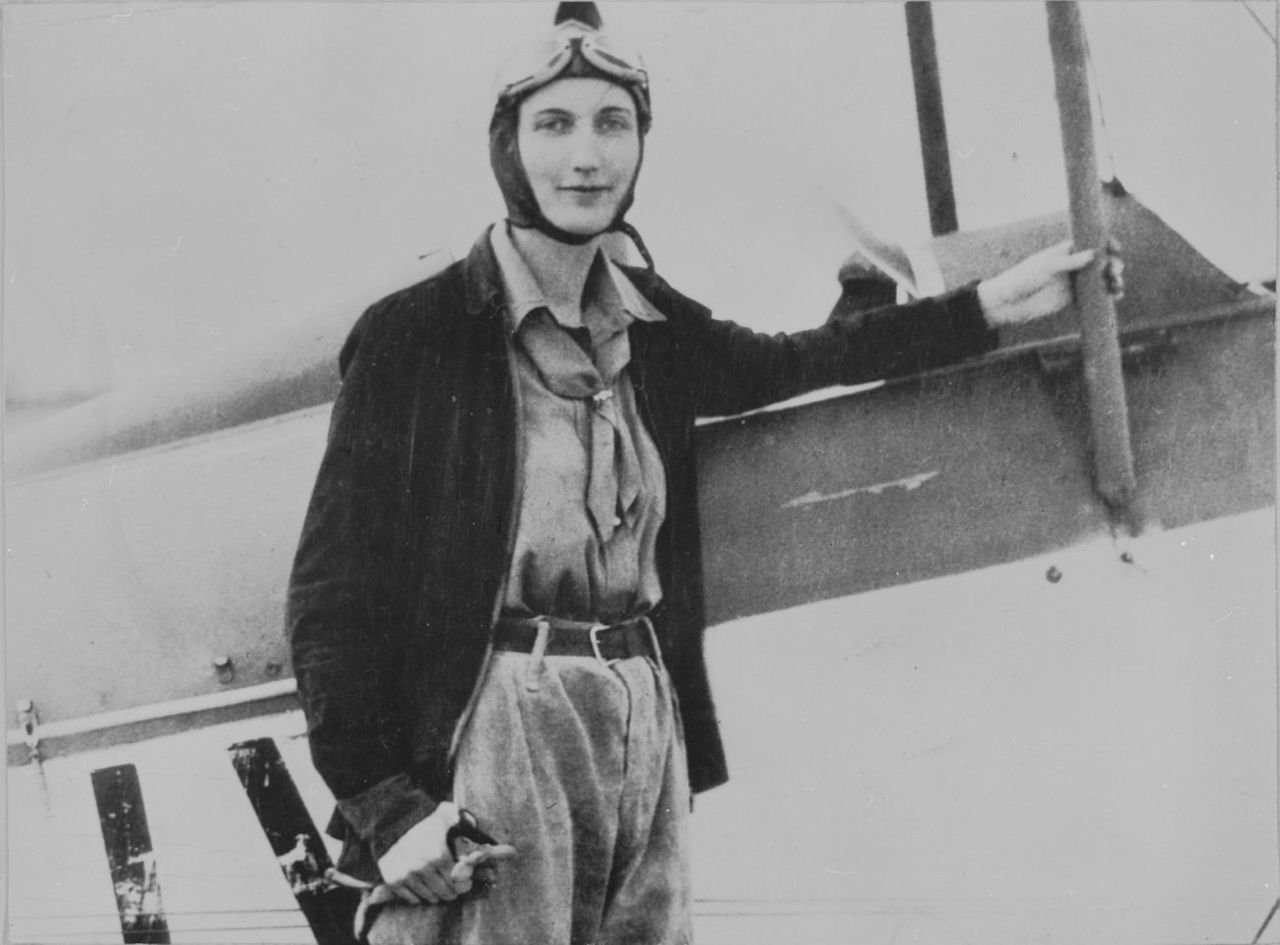Beryl Markham, Tekniska museet CC BY 2.0, https://creativecommons.org/licenses/by/2.0/