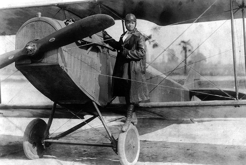 Bessie Coleman, Autor unbekannt - www.ctie.monash.edu.au