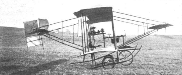 "Die ""Mayfly"" von Lilian Bland, Screenshot from Flight Iternational archive, http://www.flightglobal.com/pdfarchive/view/1910/1910%20-%201027.html"