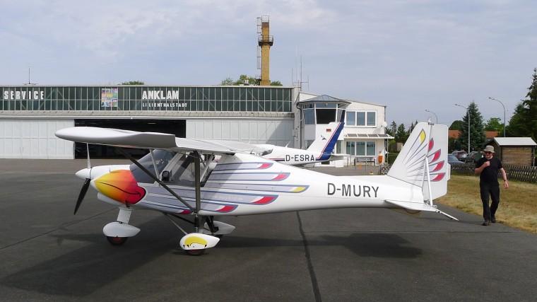 Flugplatz Anklam EDCA © Maja Christ