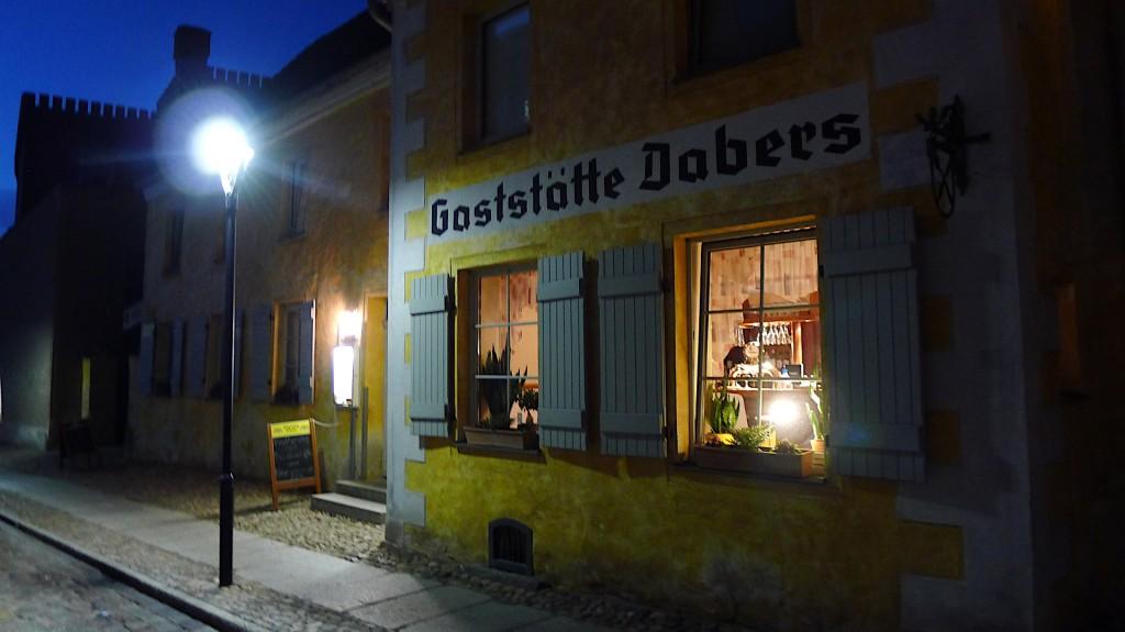 Gaststätte Dabers in Anklam © Maja Christ