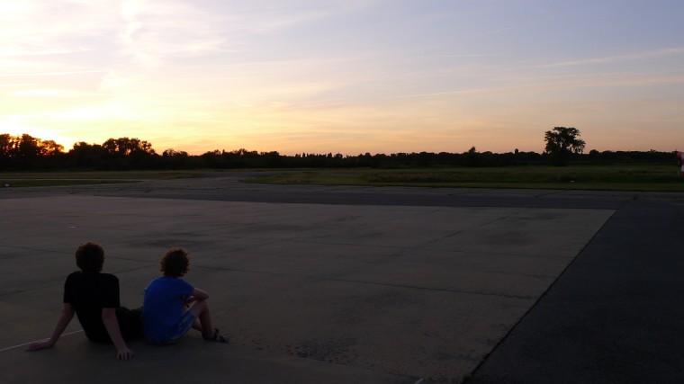 Abendstimmung am Flugplatz Worms EDFV © Maja Christ