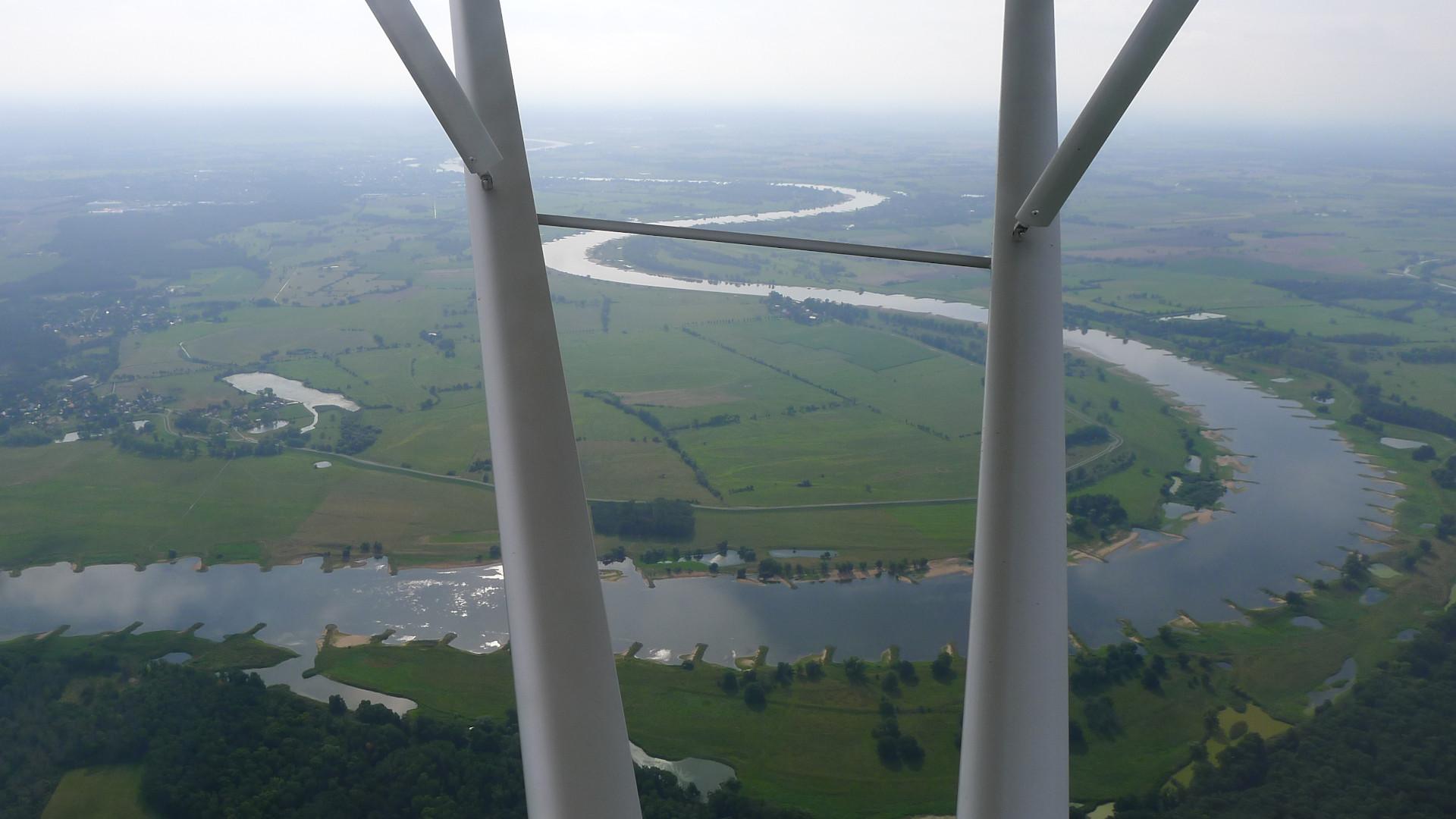 Elbe aus der Luft © Maja Christ