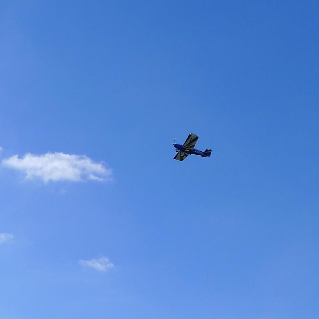 Startende Flugzeuge am Flugplatz Wyk © Maja Christ