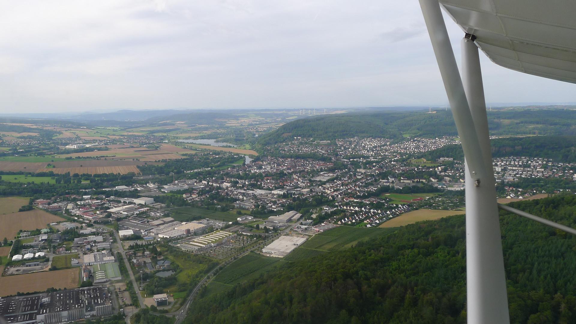Luftbild Höxter © Maja Christ