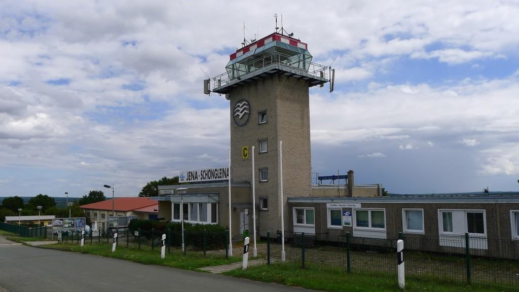 Tower Flugplatz Jena-Schöngleina EDBJ © Maja Christ