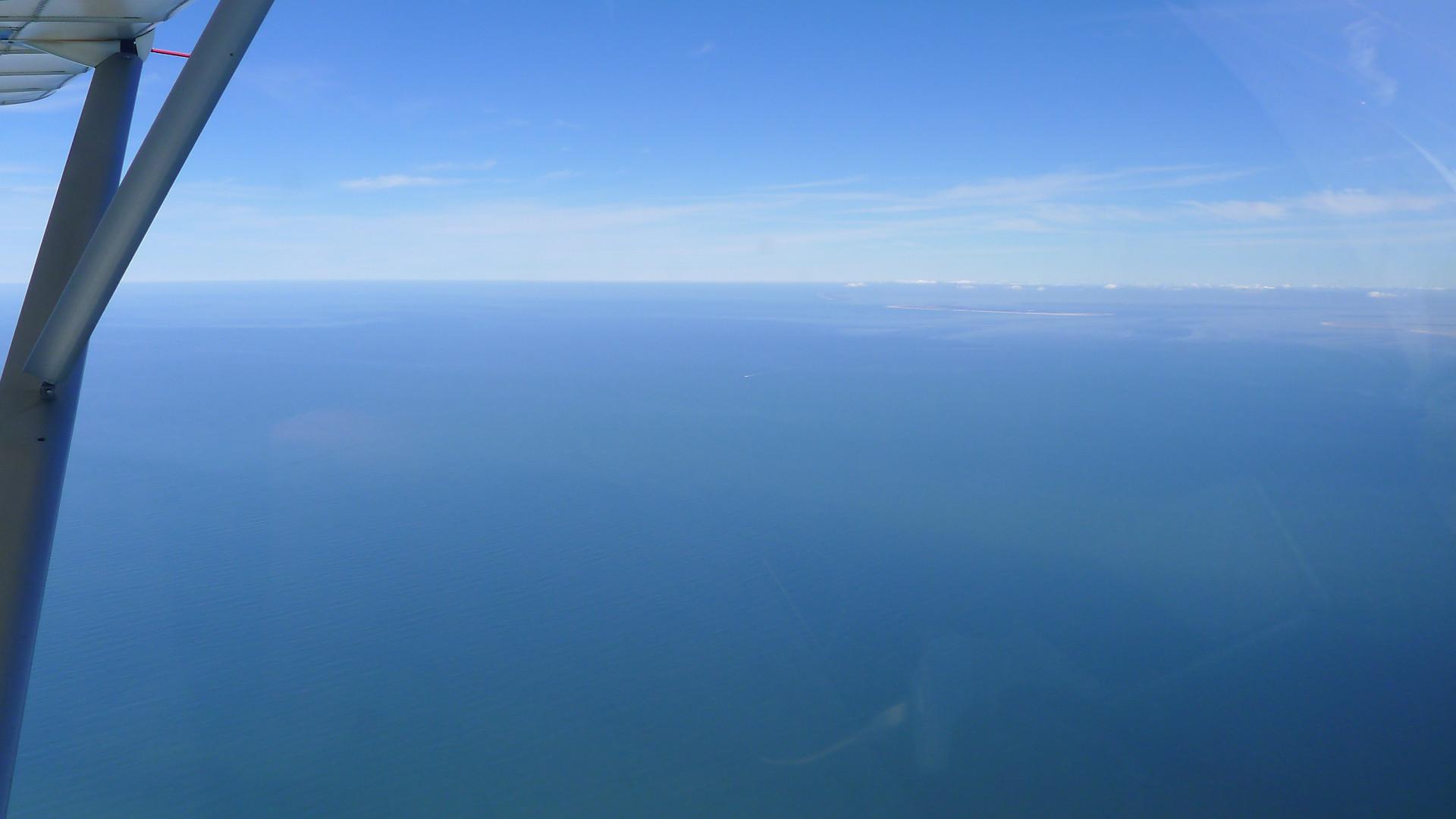 Die Nordsee in Richtung Nordfriesland © Maja Christ