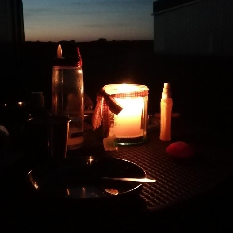 Abendstimmung am Flugplatz Worms © Maja Christ