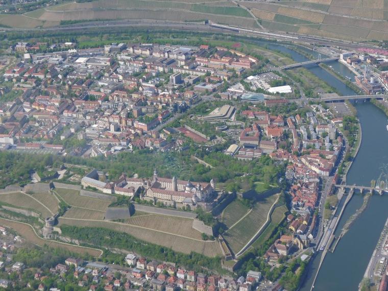 Würzburg: Festung Marienberg © Maja Christ