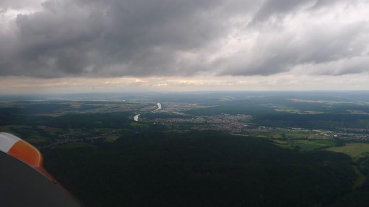 Flug von Mosbach nach Höxter © Maja Christ