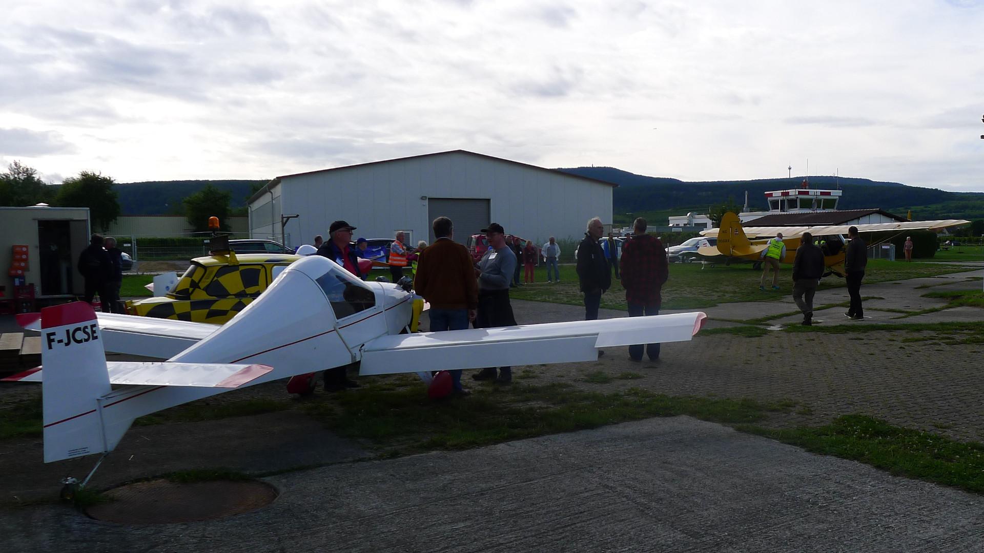 MC-30 Luciole: 120-kg-Flieger mit französischer Kennung © Maja Christ