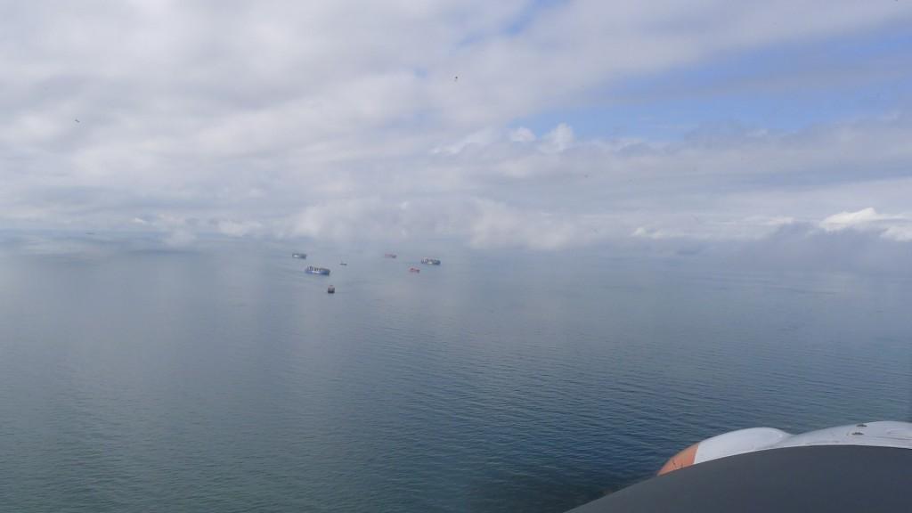 Über der Nordsee © Maja Christ