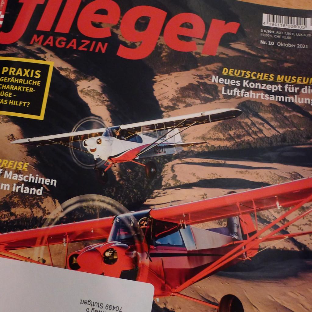 Fliegermagazin 10/21