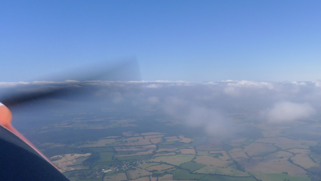 Flug an den Wolken © Maja Christ