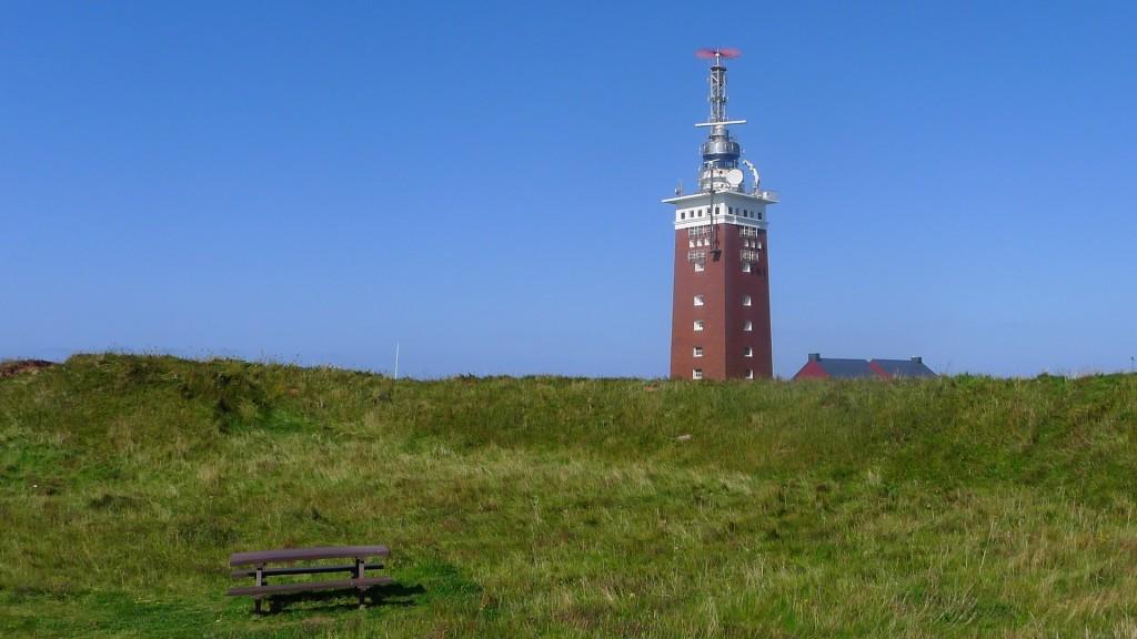 Leuchtturm der Insel Helgoland © Maja Christ