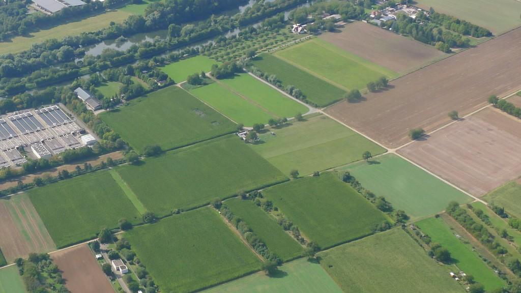 Handschuhsheimer Felder mit Modellflugplatz Heidelberg © Maja Christ