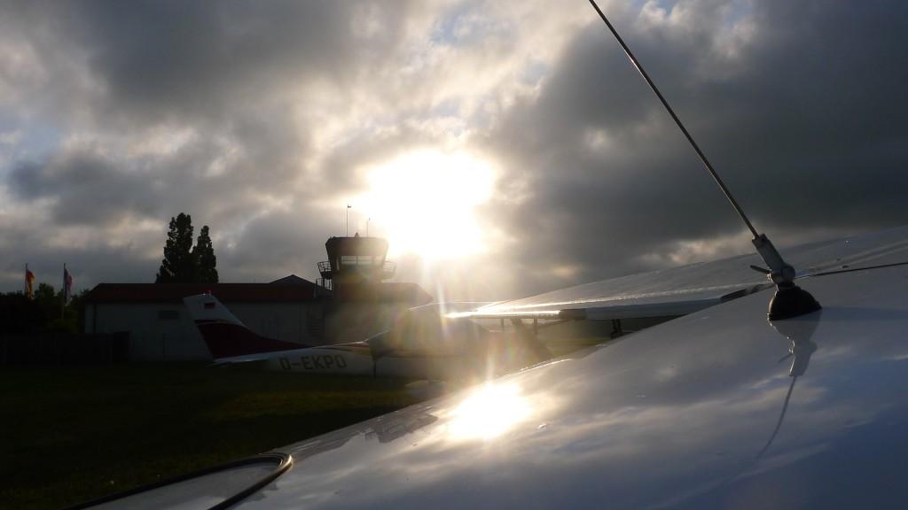 Morgenstimmung am Flugplatz © Maja Christ
