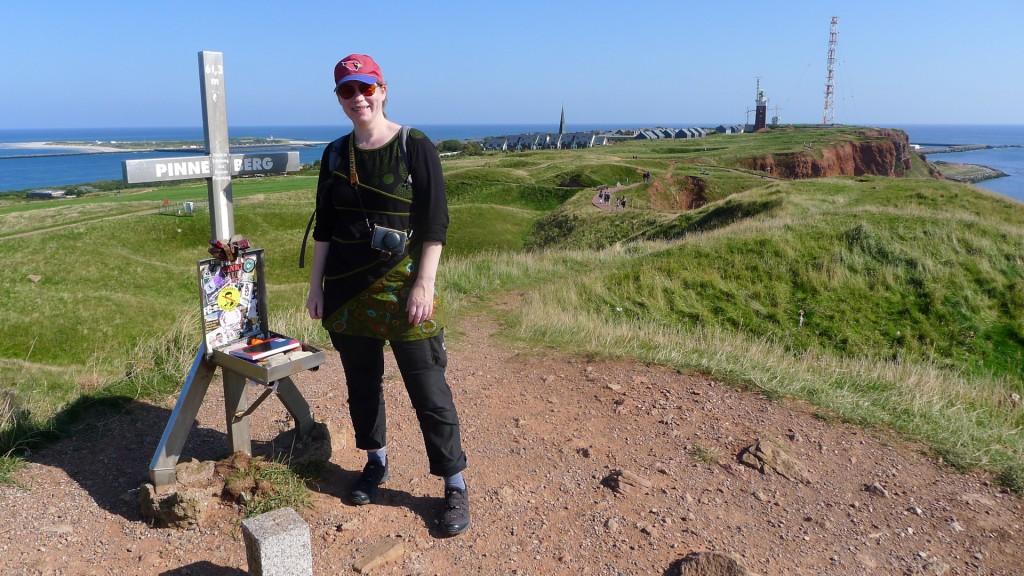 Auf dem höchsten Berg Helgolands: Pinneberg Maja Christ