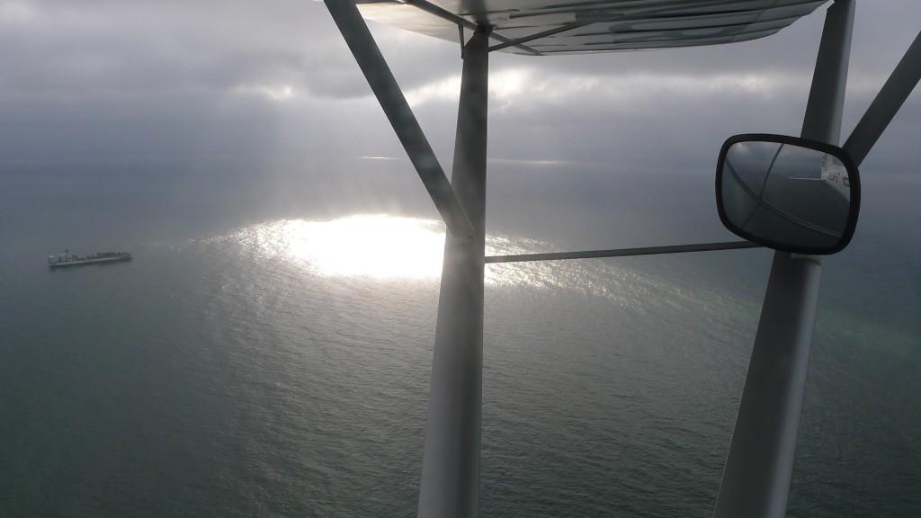 Fliegen über der Nordsee © Maja Christ