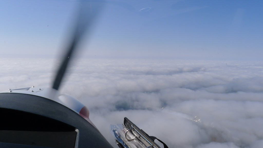Über den Wolken © Maja Christ